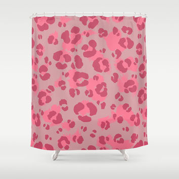 Leopard Print #3 Shower Curtain by Ornaart