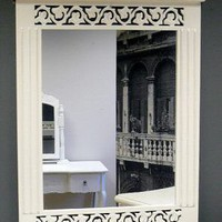 French style White mirror - Melody Maison
