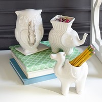 Whimsical Ceramic Study Buddies