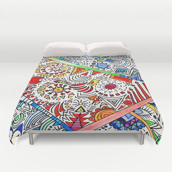 Surrounded Duvet Cover by DuckyB (Brandi)