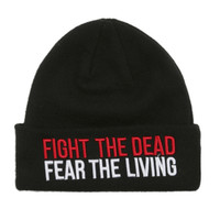 The Walking Dead Fight The Dead Watchman Beanie