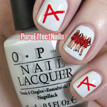 Pretty Little Liars Nail Decals