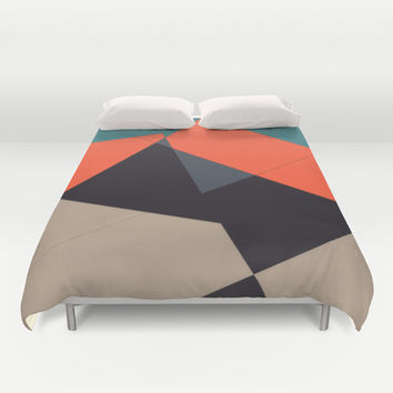 Over the Town Duvet Cover by DuckyB (Brandi)