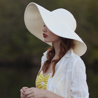breakfast at st. barts floppy hat - $19.99 : ShopRuche.com, Vintage Inspired Clothing, Affordable Clothes, Eco friendly Fashion