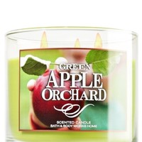 3-Wick Candle Green Apple Orchard