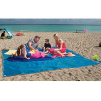 The Four-Person Sandless Beach Mat