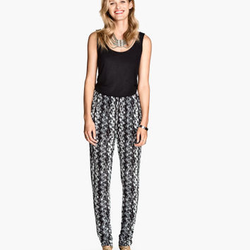 Pants Loose fit - from H&M