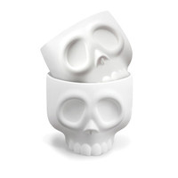 I liked this design on #Fab. Nomskulls Cupcake Molds