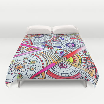 Burst Duvet Cover by DuckyB (Brandi)