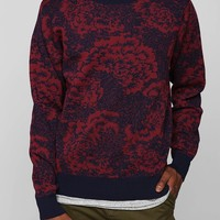 OBEY Cranford Floral Sweater