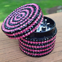 GRINDER -- PiNK + BLACk StRiPES
