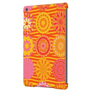 Kaleidoscope Fun, Pink-Orange iPad Air Case