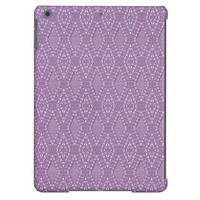 Pave Diamonds Amethyst iPad Air Case