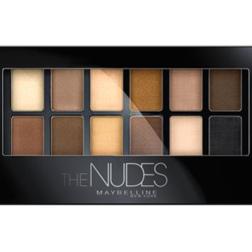 Eye Shadow Palettes Expert Wear - Nude Colors - Maybelline