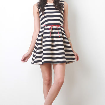 Woven Nautical Dress