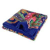 NWT Vera Bradley Throw Blanket in Venetian Paisley micro-fleece 12408 150