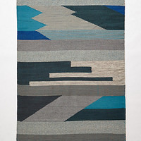 Silvered Prisms Rug by Anthropologie