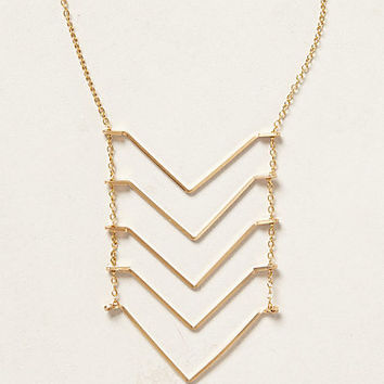 Chevron Ladder Necklace