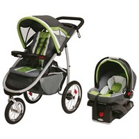 Graco FastAction Fold Jogger Travel System - Piazza