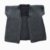 Blue-Checkered Reversible Camiseta | Shop | Project Bly