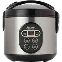 Walmart: Aroma 8-Cup Digital Rice Cooker and Food Steamer
