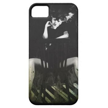 Girl on Fire black and White cases
