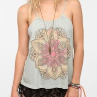 Title Unknown Lotus Print Tank
