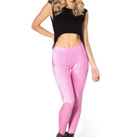 WALLPAPER PRINCESS PINK LEGGINGS - LIMITED
