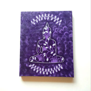 Buddha inspired  acrylic canvas painting for trendy girls