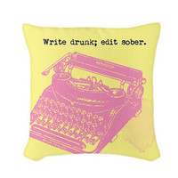 Hemingway Throw Pillow Cushion