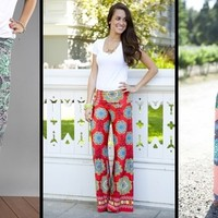 White Plum's Palazzo Pants! 23 Styles Available!