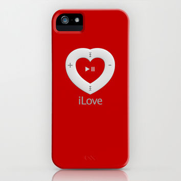 iLove red - iPhone & iPod Case by THE-LEMON-WATCH