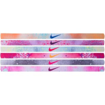Nike Womenx27s Graphic Headbands  6 Pack  Dickx27s Sporting Goods