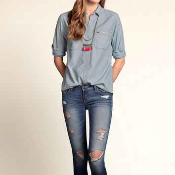 Swami's Beach Chambray Shirt