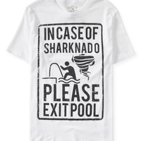 Exit Pool Sharknado Graphic T