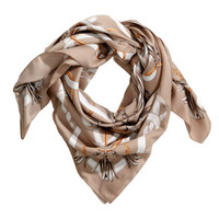 H&M Patterned Satin Scarf $9.95