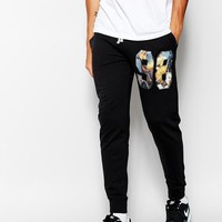 ASOS | ASOS Skinny Sweatpants With Hyper 98 Print at ASOS