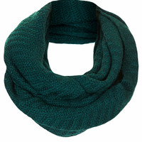 Zig Zag Snood - Green