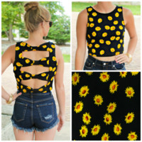 Daisy Delight Crop Top