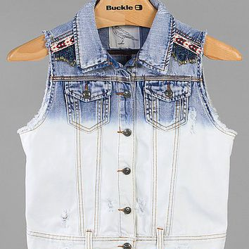 White Crow Washed Denim Vest
