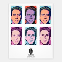 Nicolas Cage Pop Art