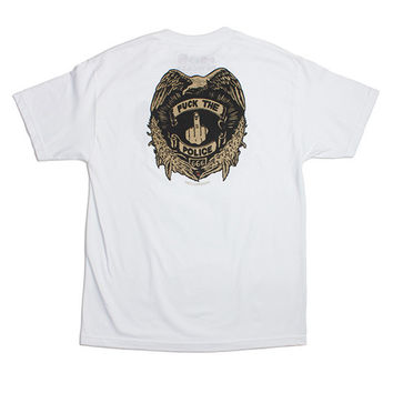 MELLOWHYPE BADGE WHITE TEE – Odd Future