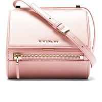 Pink Leather Palma Pandora Box Mini Bag
