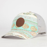 O'neill Better Days Womens Trucker Hat Stone One Size For Women 23809142201