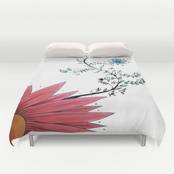 Nature's Smile Duvet Cover by DuckyB (Brandi)