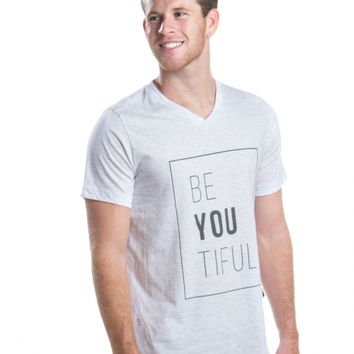"Men's ""BeYOUtiful"" V-Neck"