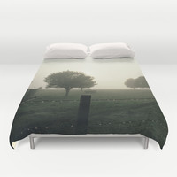 Misty Morning Duvet Cover by Bruce Stanfield