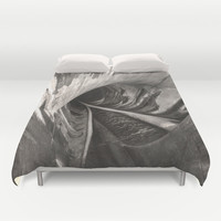 Dam Reticulation Duvet Cover by Bruce Stanfield