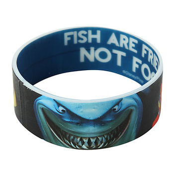 Disney Finding Nemo Fish Are Friends Rubber Bracelet