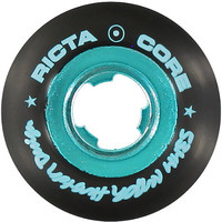 Ricta Nyjah Chrome Core Black & Teal 53mm Skateboard Wheels